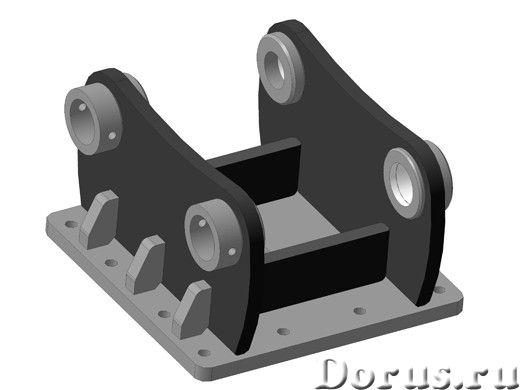 Переходная плита на гидромолот на гидробур - Запчасти и аксессуары - Изготовим по Вашим требованиям..., фото 1