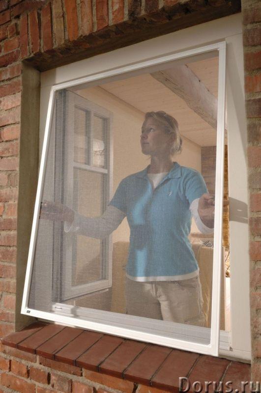 Москитные сетки на окна в Сочи - Материалы для строительства - Замер, доставка, изготовление и устан..., фото 1
