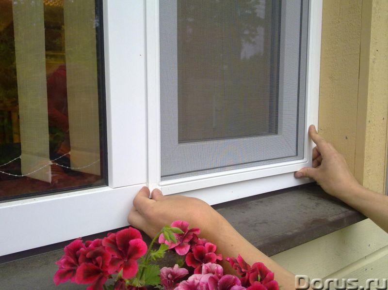 Москитные сетки на окна в Сочи - Материалы для строительства - Замер, доставка, изготовление и устан..., фото 2