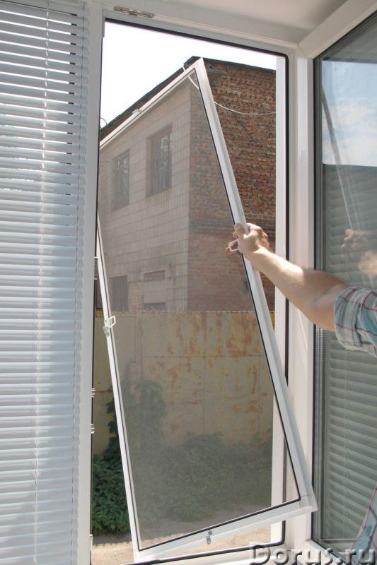 Москитные сетки на окна в Сочи - Материалы для строительства - Замер, доставка, изготовление и устан..., фото 3
