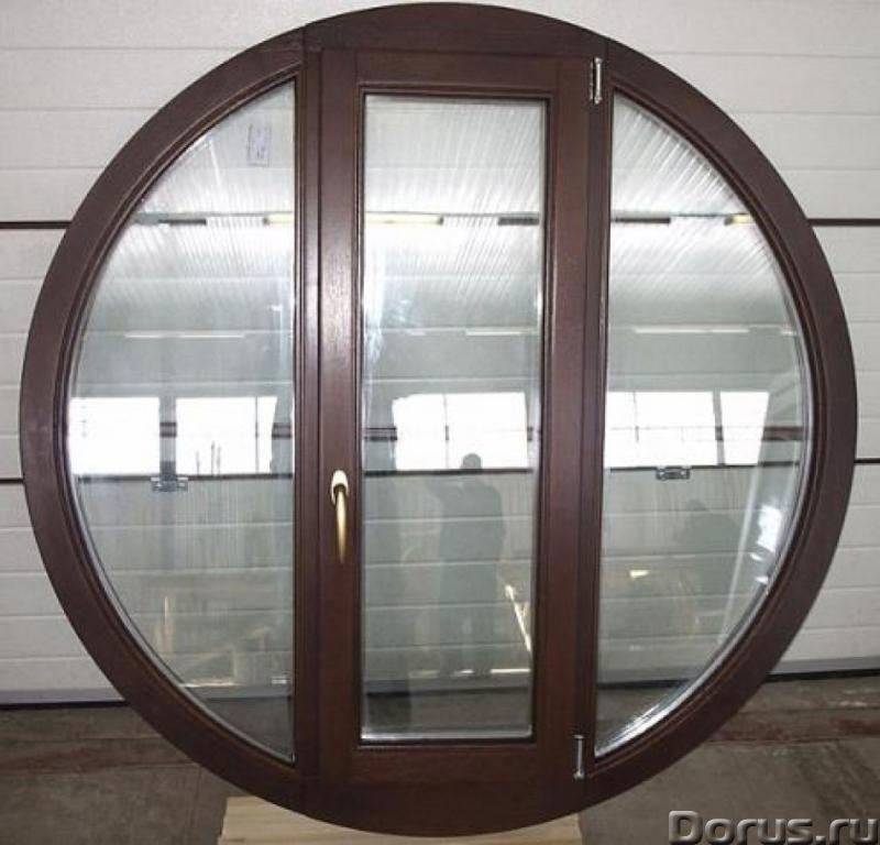 Нестандартные окна в Сочи - Материалы для строительства - По форме возможны окна практически любой к..., фото 1