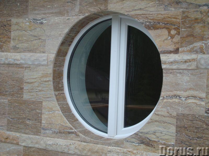 Нестандартные окна в Сочи - Материалы для строительства - По форме возможны окна практически любой к..., фото 2