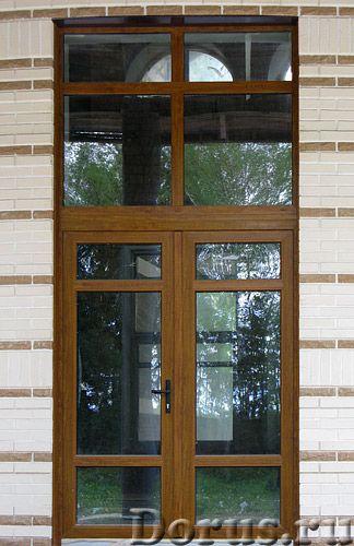 Входные двери ПВХ в Сочи - Материалы для строительства - Двери металлопластиковые входные комплектую..., фото 1