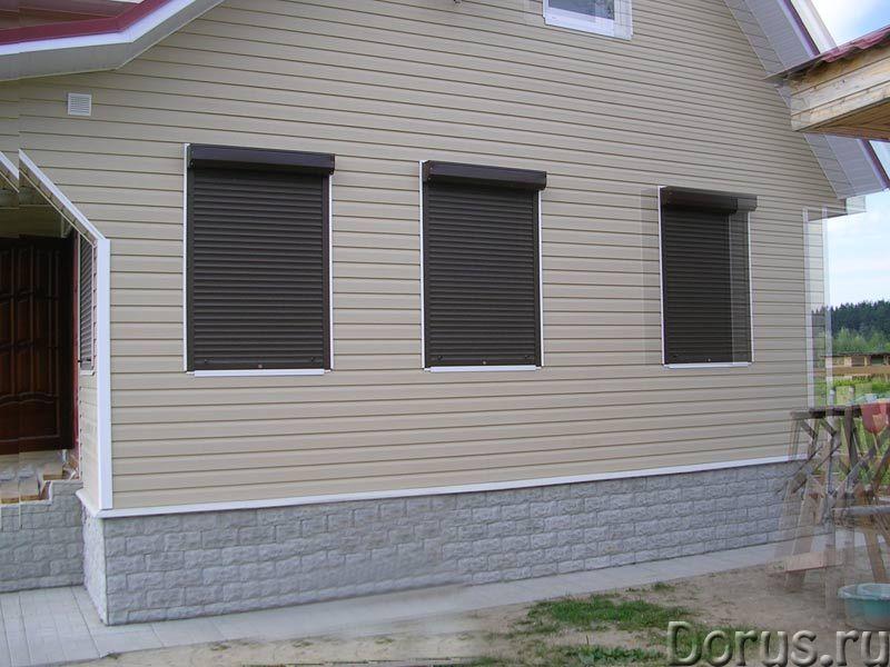Рольставни, роллеты для окон в Сочи - Материалы для строительства - Роллеты на окнах гораздо более у..., фото 1