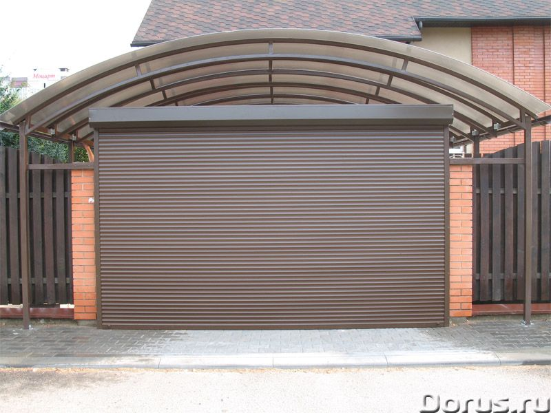Гаражные рольставни, роллеты в Сочи - Материалы для строительства - Роллетные гаражные ворота – это..., фото 1