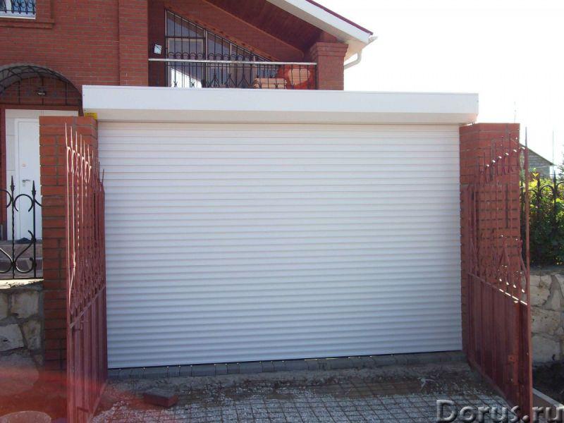Гаражные рольставни, роллеты в Сочи - Материалы для строительства - Роллетные гаражные ворота – это..., фото 2