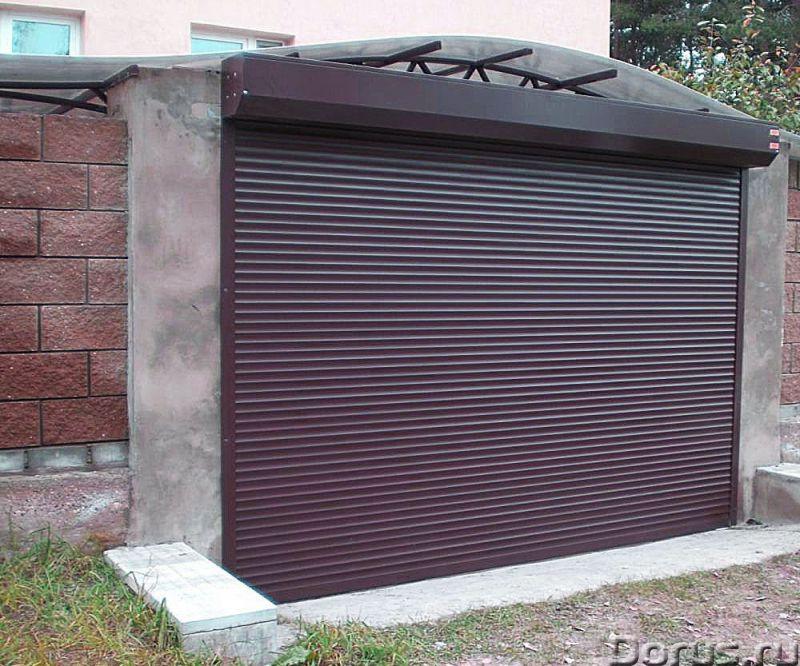 Гаражные рольставни, роллеты в Сочи - Материалы для строительства - Роллетные гаражные ворота – это..., фото 3