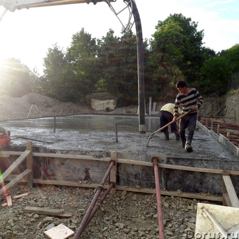 Строительство фундамента в Сочи - Строительные услуги - Наша компания занимается строительством фунд..., фото 6