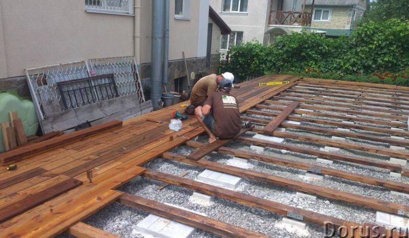 Укладка террасной доски в Сочи - Строительные услуги - Террасная доска – это современный строительны..., фото 1