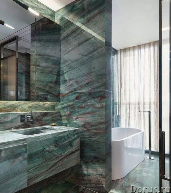 Мрамор в ванной комнате - Дизайн и архитектура - Его уникальная и сложная фактура позволяет создать..., фото 1