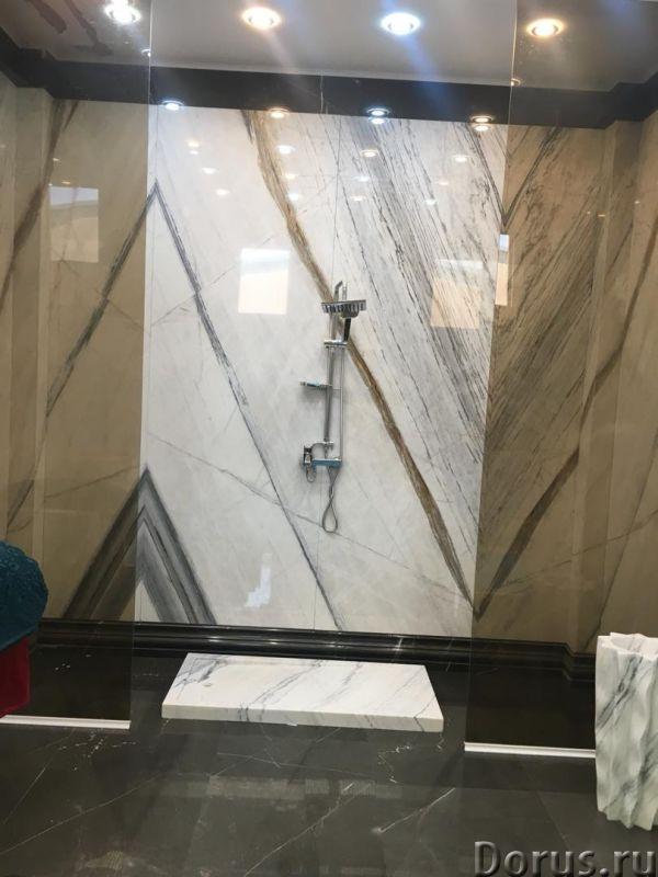 Мрамор в ванной комнате - Дизайн и архитектура - Его уникальная и сложная фактура позволяет создать..., фото 2