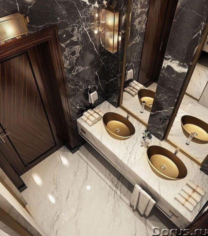 Мрамор в ванной комнате - Дизайн и архитектура - Его уникальная и сложная фактура позволяет создать..., фото 5