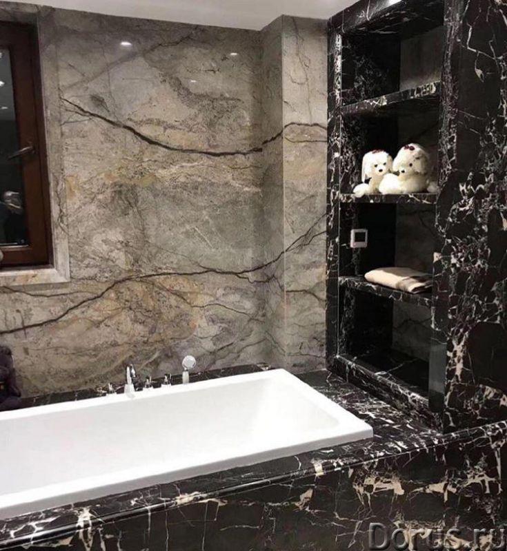 Мрамор в ванной комнате - Дизайн и архитектура - Его уникальная и сложная фактура позволяет создать..., фото 7