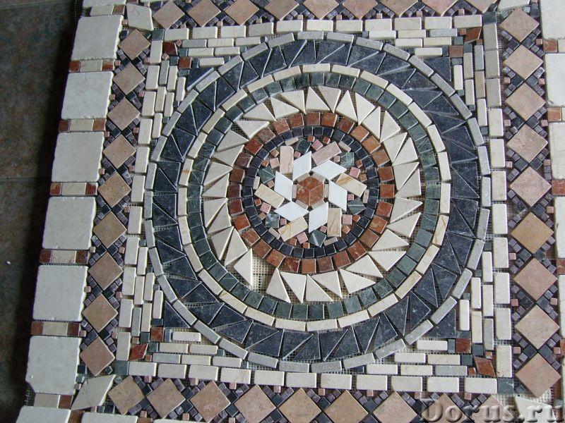Напольные панно из натурального камня травертина мрамора - Материалы для строительства - Готовые нап..., фото 5