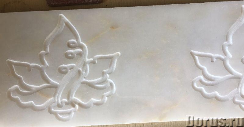 Мрамор бежевый белый серебро полированный Турция в наличии - Материалы для строительства - Склад кам..., фото 3