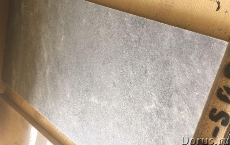 Мрамор бежевый белый серебро полированный Турция в наличии - Материалы для строительства - Склад кам..., фото 4