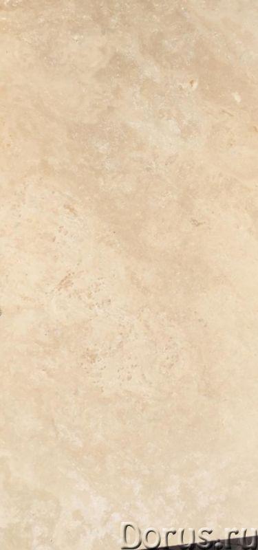Мрамор бежевый белый серебро полированный Турция в наличии - Материалы для строительства - Склад кам..., фото 5